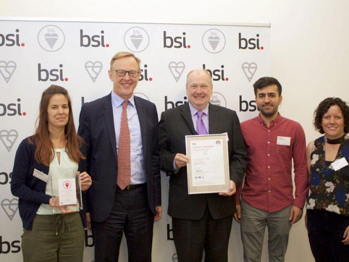 S&T UK Awarded BSI 14001:2015