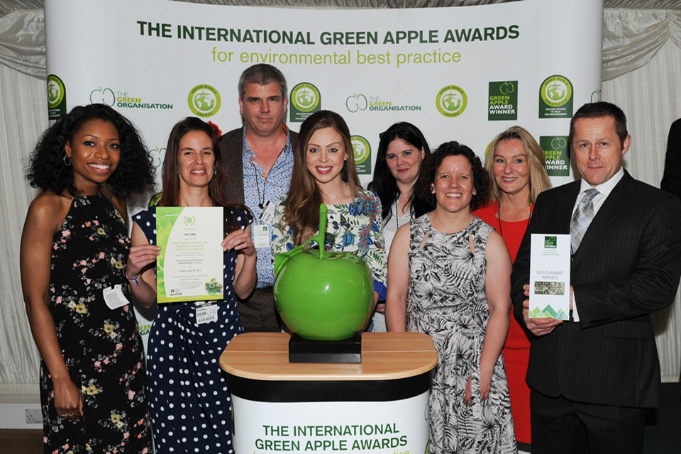 Green Apple Award Winner