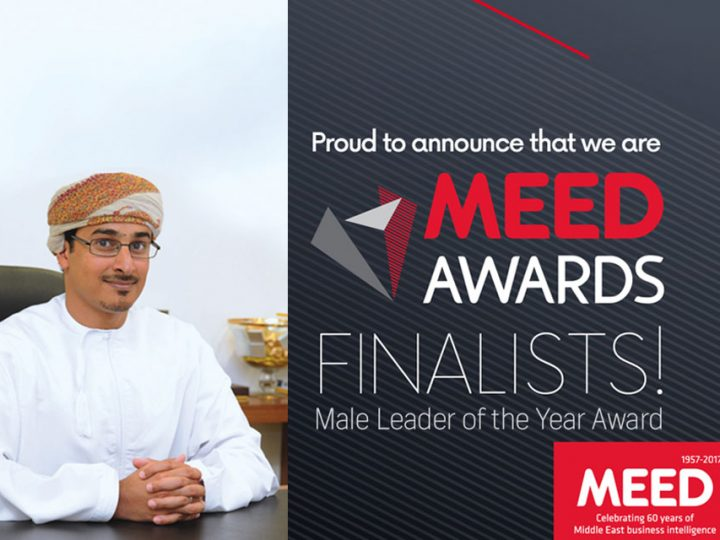 Waqas Al Adawi, S&T Group Vice Chairman, finalist for 'Male Leader of the Year' MEED Awards