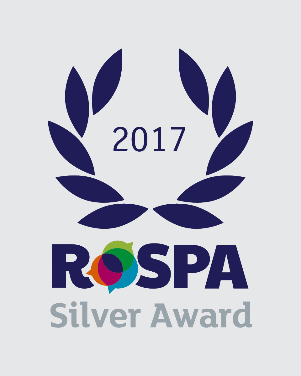 RoSPA Silver Awaed