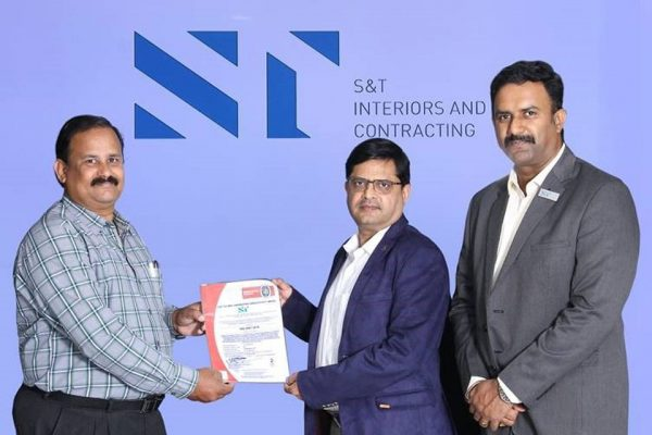 S&T COIMBATORE ISO CERTIFICATION