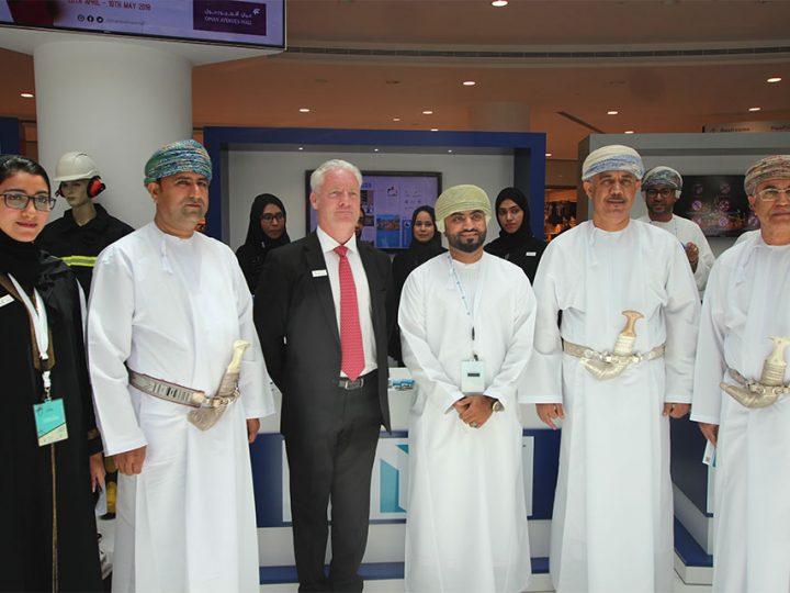 S&T promotes the company's strong safety culture at the World Safety Week 2018, Muscat, Oman