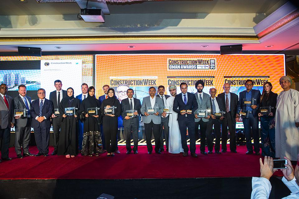 Construction Week Awards Oman 2018